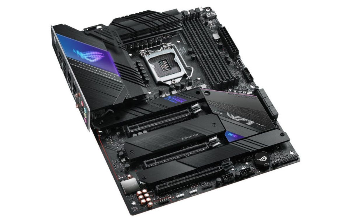 The ROG Strix Z590 E Gaming videocardz 1200x764 1 - ASUS unveils Z590 ROG Maximus XII, ROG STRIX, TUF Gaming and PRIME Motherboards