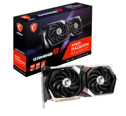 3 - MSI unveils custom Radeon RX 6700 XT graphics cards