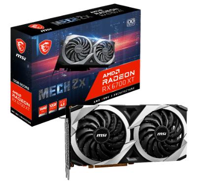 4 - MSI unveils custom Radeon RX 6700 XT graphics cards