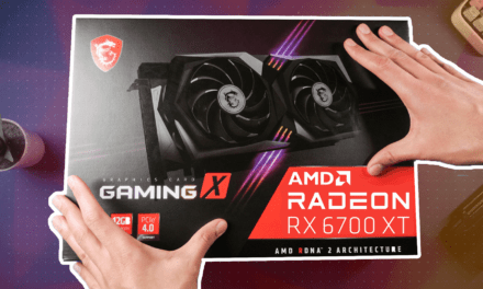 MSI RX 6700 XT GAMING X 12G Unboxing