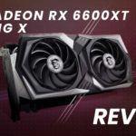 MSI Radeon RX 6600 XT Gaming X Review