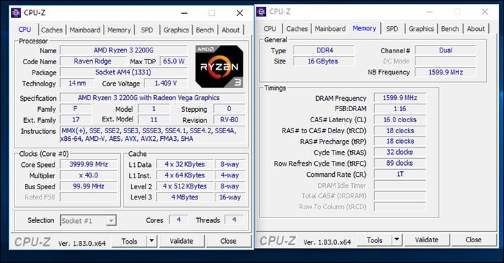 Ryzen 5 2400G and Ryzen 3 2200G: Putting the G back in