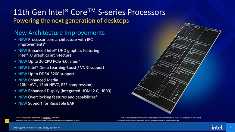 4 - Intel Core i9-11900K and Core i5-11600K Review