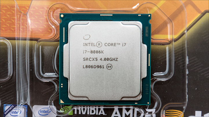 Intel i7 8086K int3 - Intel Limited Edition i7 8086K: Better performance but not that much better