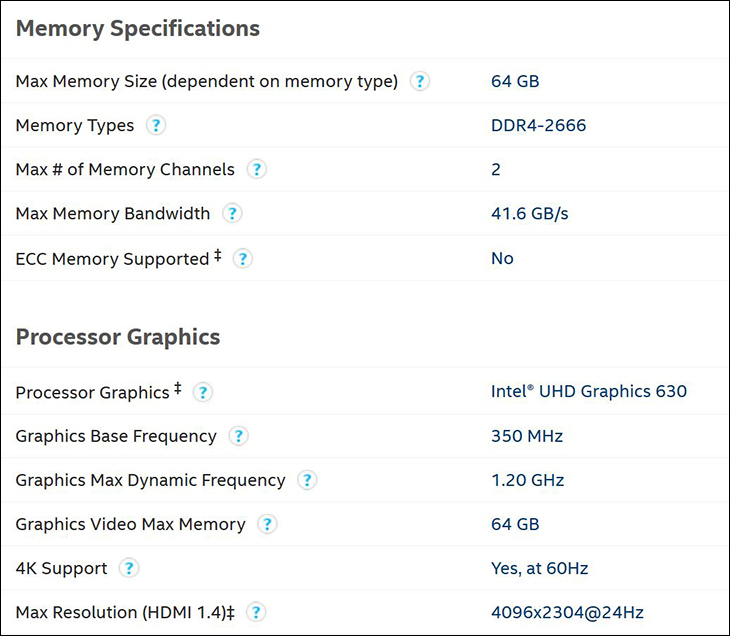 spec3 - Intel Limited Edition i7 8086K: Better performance but not that much better
