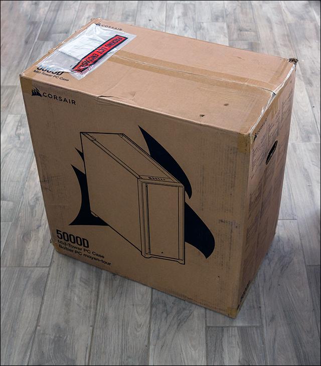 box - Corsair 5000D Review