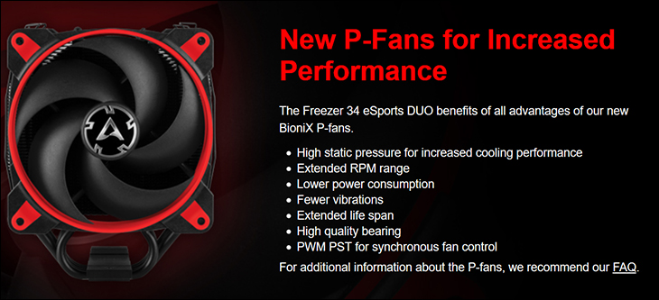 Arctic Freezer 34 eSports DUO spec2 - Arctic Freezer 34 eSports DUO Review