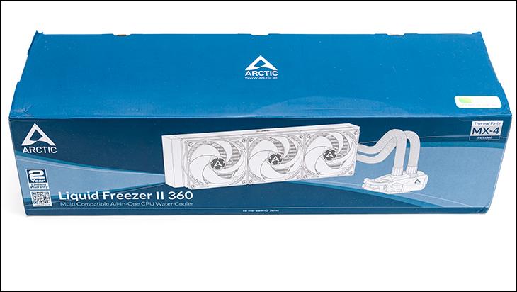Arctic Liquid Freezer II 360 box - Arctic Liquid Freezer II 360 Review