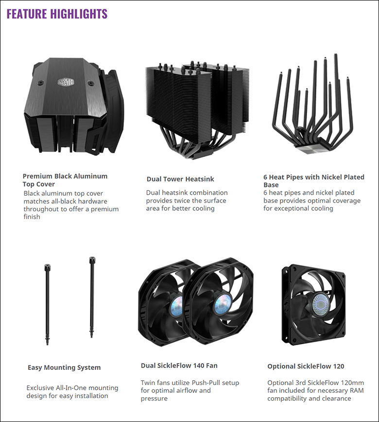 spec4 - Cooler Master MA624 Stealth Review