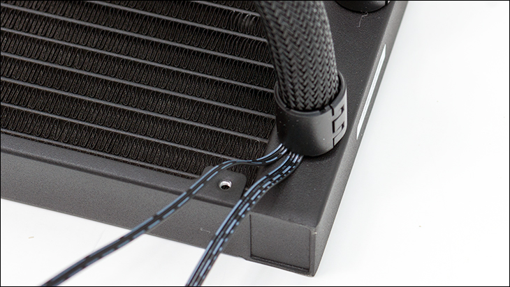 hidden cables - Gigabyte Aorus WaterForce X 360 Review
