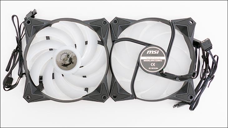 MSI CoreLiquid 360R fan - MSI MAG CoreLiquid 360R Review