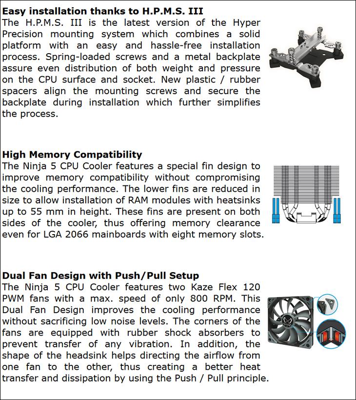 spec3 - Scythe Ninja 5 Review