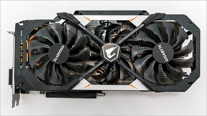 Gigabyte AORUS GTX 1070 top - Gigabyte AORUS GTX 1070: Big card with big performance