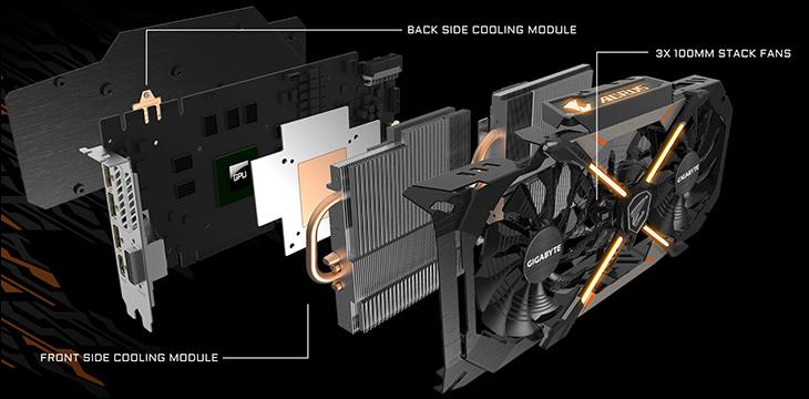 sink - Gigabyte AORUS GTX 1070: Big card with big performance