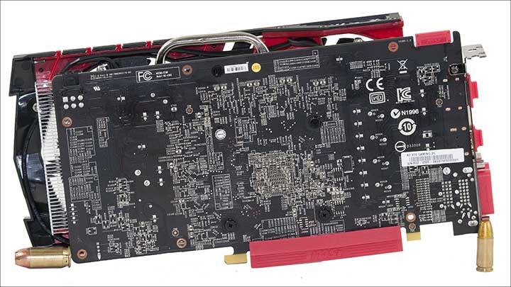 back - MSI R7 370 Gaming 2G