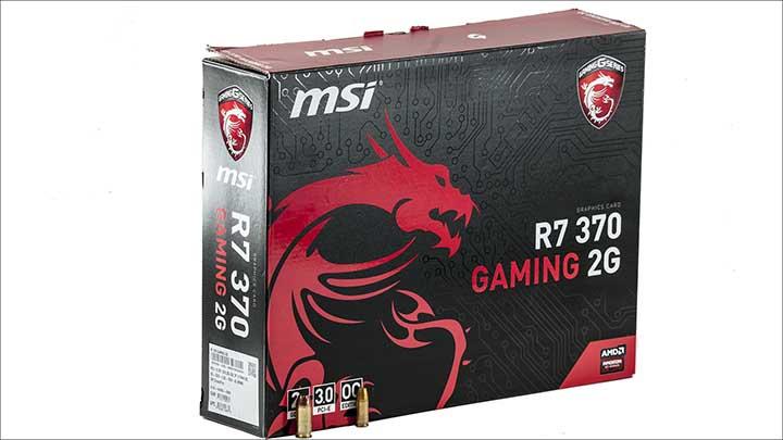 box - MSI R7 370 Gaming 2G