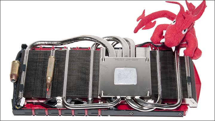 heatsink - MSI Gaming 6G 980TI: Silent But Deadly