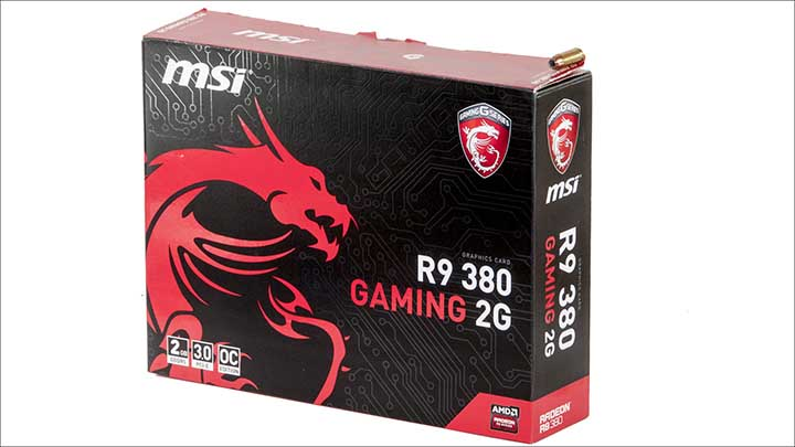 box - MSI Radeon R9 380 Gaming 2G