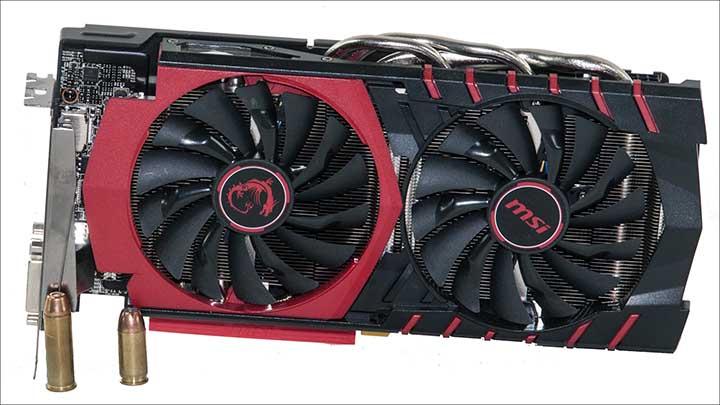 front - MSI Radeon R9 380 Gaming 2G