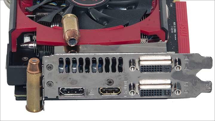 ports - MSI Radeon R9 380 Gaming 2G