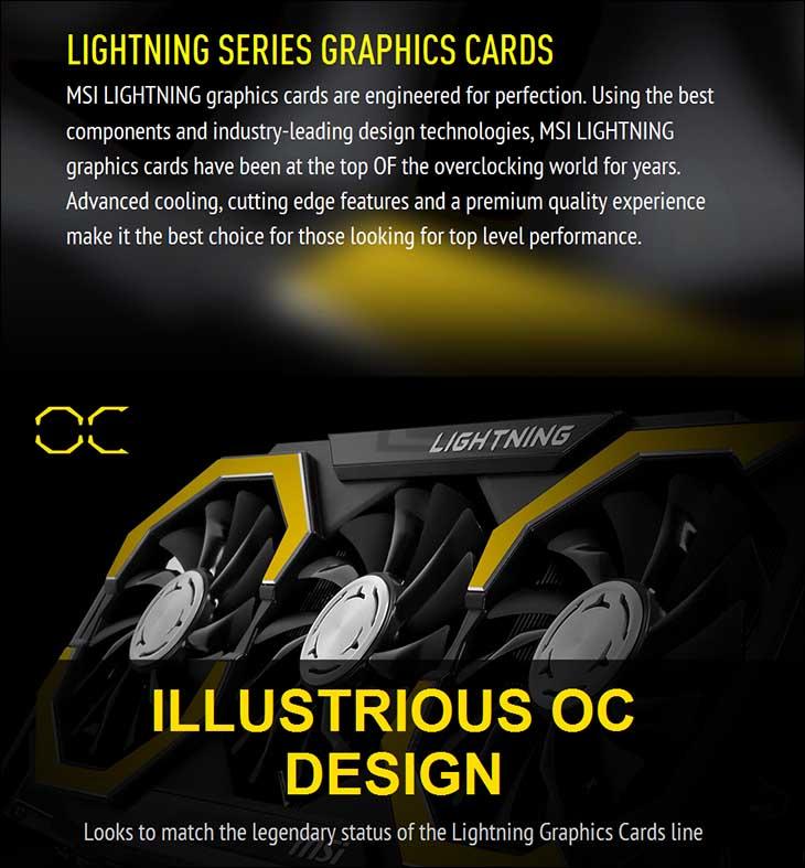 spec3 - MSI GTX 980Ti Lightning: The Silent Assassin