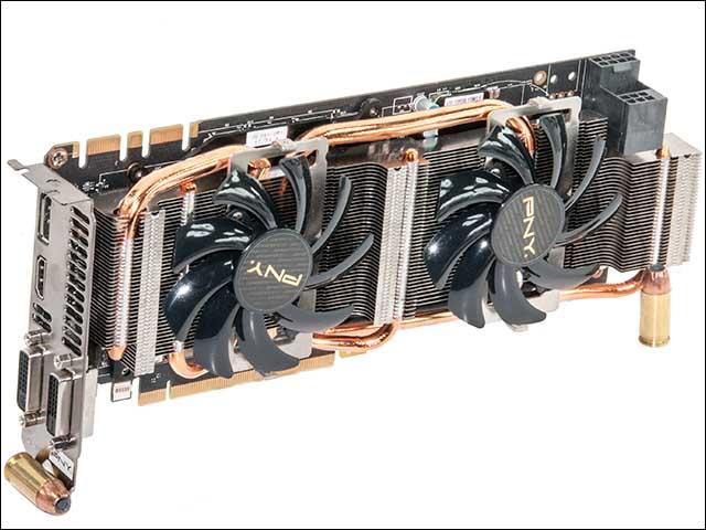 fans2 - PNY GeForce GTX 770 4GB XLR8 OC2
