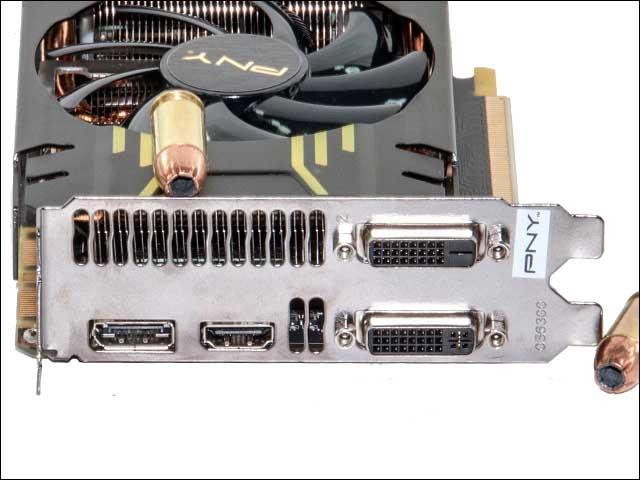 ports - PNY GeForce GTX 770 4GB XLR8 OC2