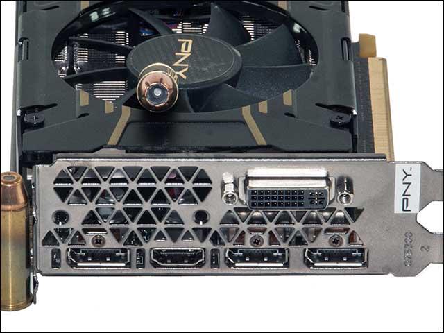 ports - PNY Geforce XLR8 GTX 960 Elite