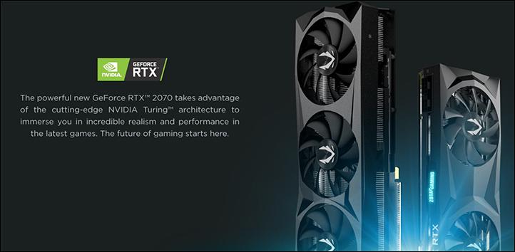 spec2 - Zotac Gaming GeForce RTX 2070 AMP: Smaller design, but better performance
