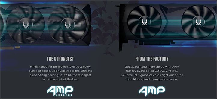 spec4 - Zotac Gaming GeForce RTX 2070 AMP: Smaller design, but better performance