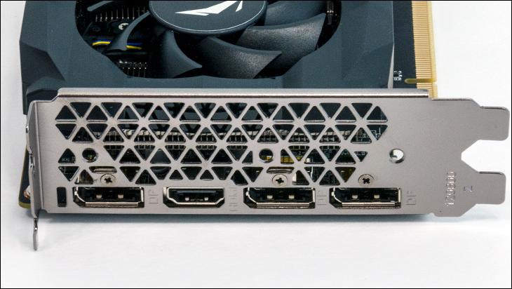 Zotac Gaming GTX 1660 ports - Zotac GAMING GeForce GTX 1660 Review