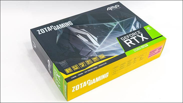 Zotac Super RTX 2080 AE box - Zotac Super RTX 2080 Amp Extreme Review