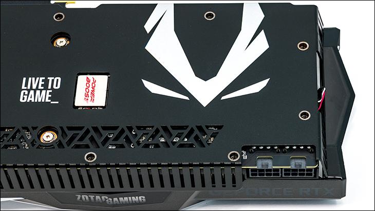 Zotac Super RTX 2080 AE power - Zotac Super RTX 2080 Amp Extreme Review