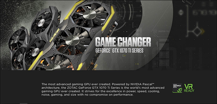 spec3 - Zotac GTX 1070Ti Mini: Good things can come in small packages