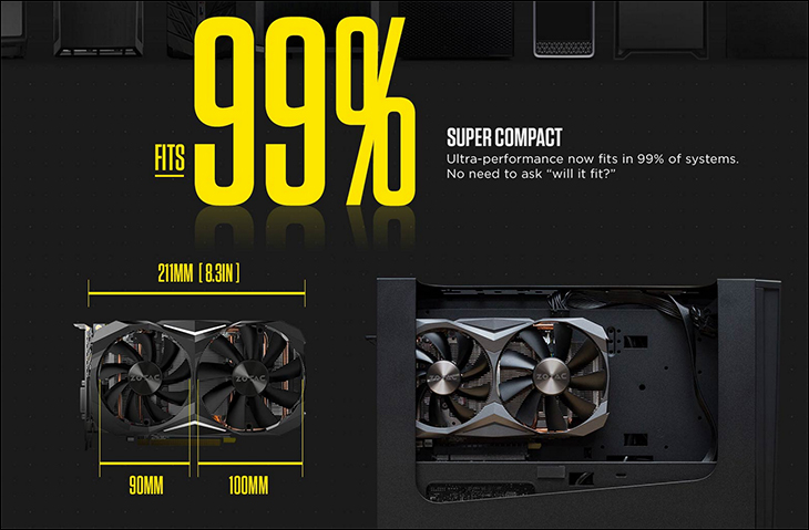 spec5 - Zotac GTX 1070Ti Mini: Good things can come in small packages