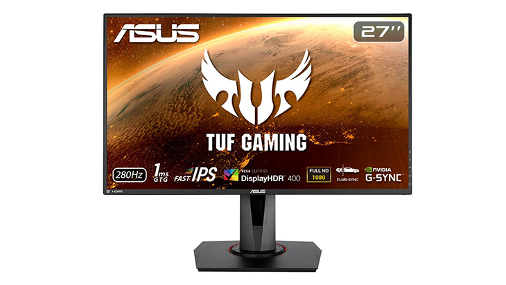 ASUS TUF VG279QM front - ASUS VG279QM: VRR and ELMB Together at Last