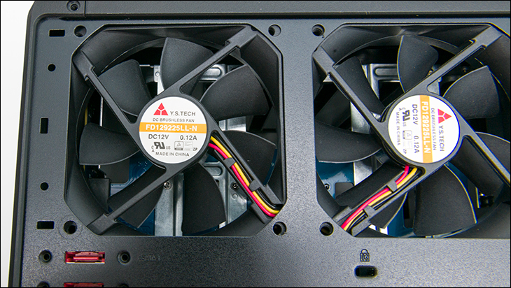 fan - Synology DS1520+ Review