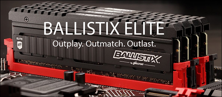 intro - Ballistix Elite DDR4-3600 Review