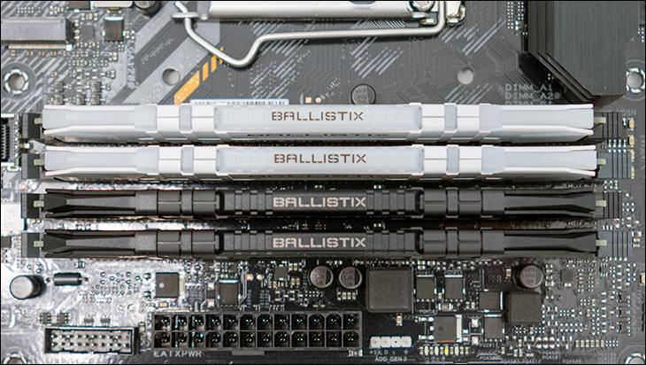 comp4 - Ballistix Gaming DDR4-3200 64GB Review