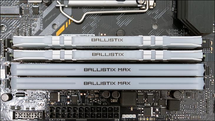 comp5 - Ballistix Gaming DDR4-3200 64GB Review