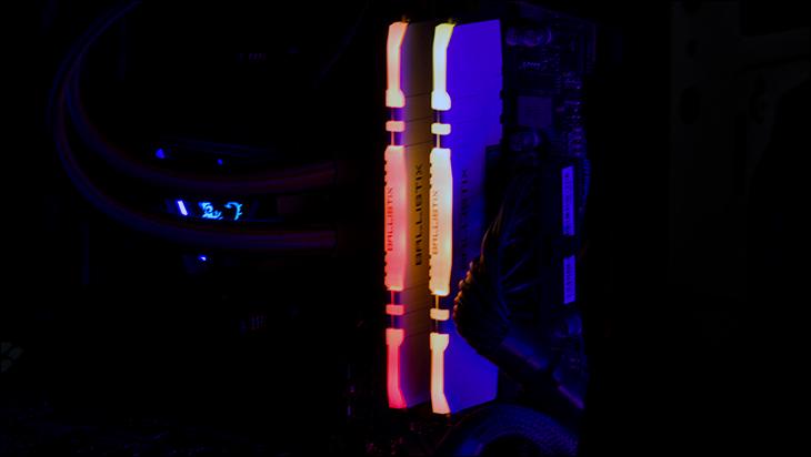 glow3 - Ballistix Gaming DDR4-3200 64GB Review