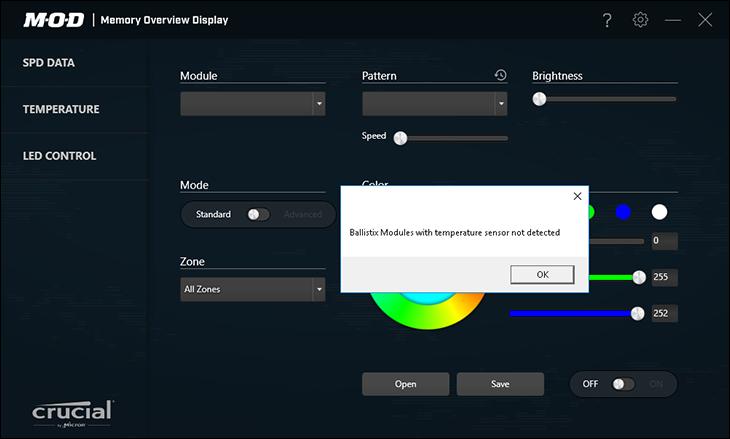 mod2 - Ballistix Gaming DDR4-3200 64GB Review