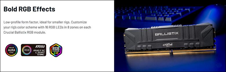 spec5 - Ballistix Gaming DDR4-3200 64GB Review