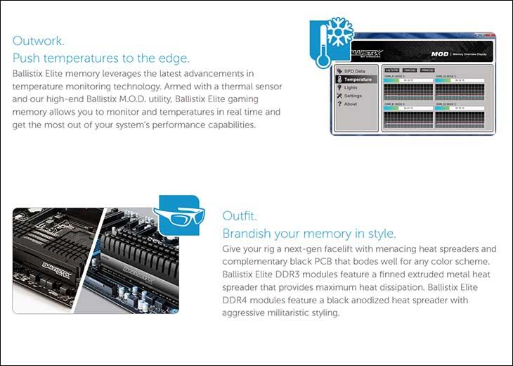 spec3 - Crucial Ballistix Elite DDR4-2666 32GB Kit