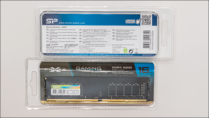 Silicon Power Gaming Aircool box2 - Silicon Power XPower AirCool DDR4-3200