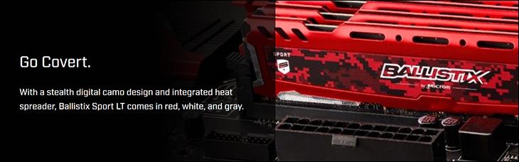 spec3 - Ballistix Sport LT DDR4-3200 Review