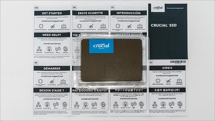 Crucial BX500 480GB Good RAID performance on the cheap