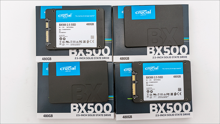 Crucial BX500 intro - Crucial BX500 480GB Good RAID performance on the cheap