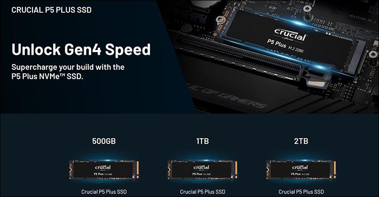 spec1 - Crucial P5 Plus 2TB Review