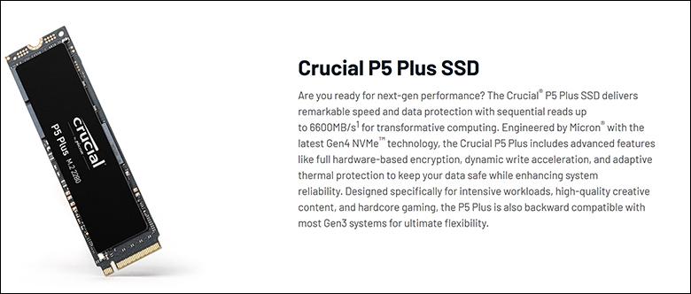 spec2 - Crucial P5 Plus 2TB Review